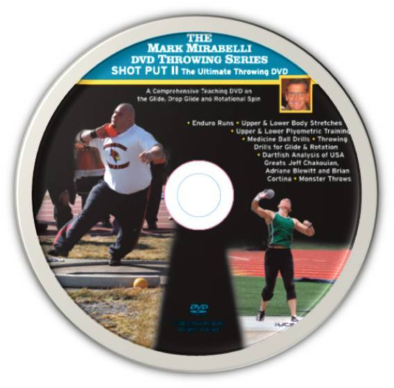 Mark Mirabelli Throwing Series II - Shot Put II