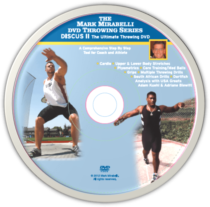 Mark Mirabelli Throwing Series II - Discus II